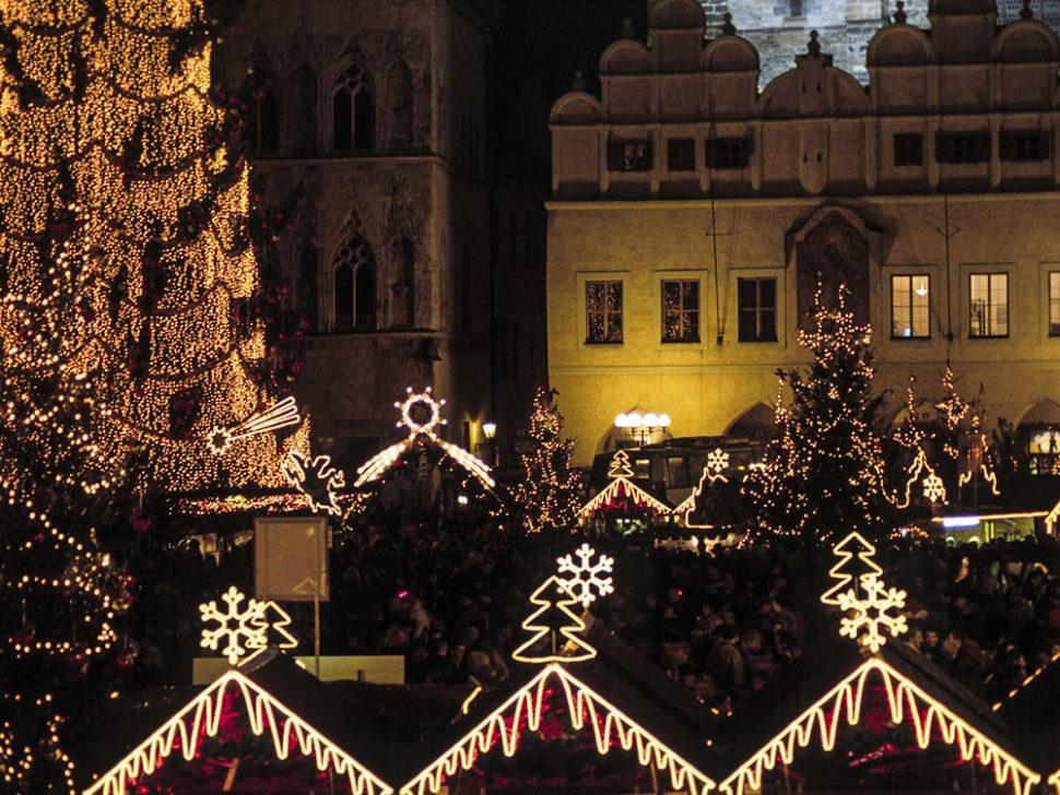 Světelná výzdoba - Staroměstké náměstí