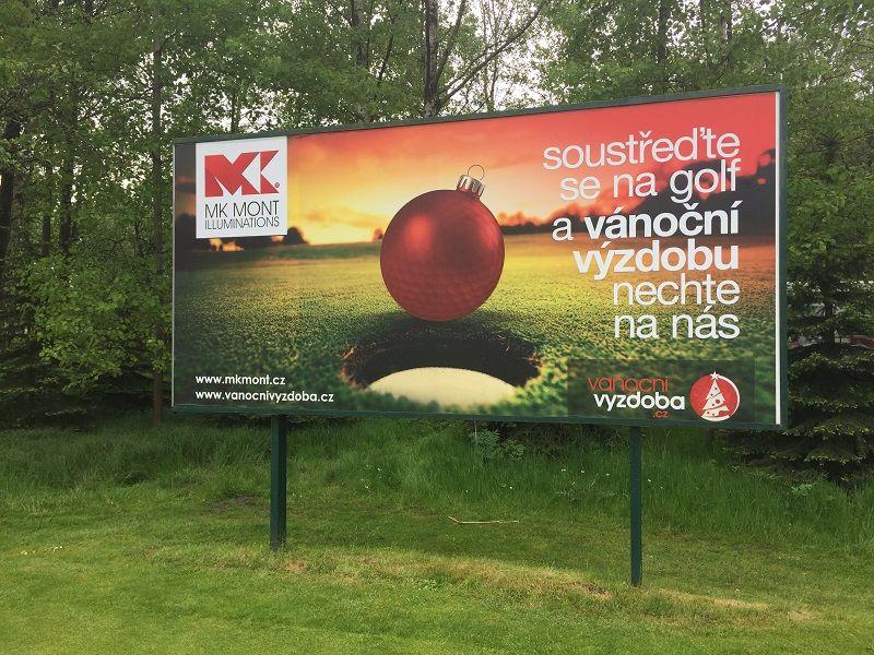 Velkoplošný tisk - billboard