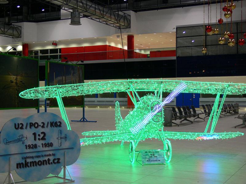 3D světelné letadlo od firmy MK mont