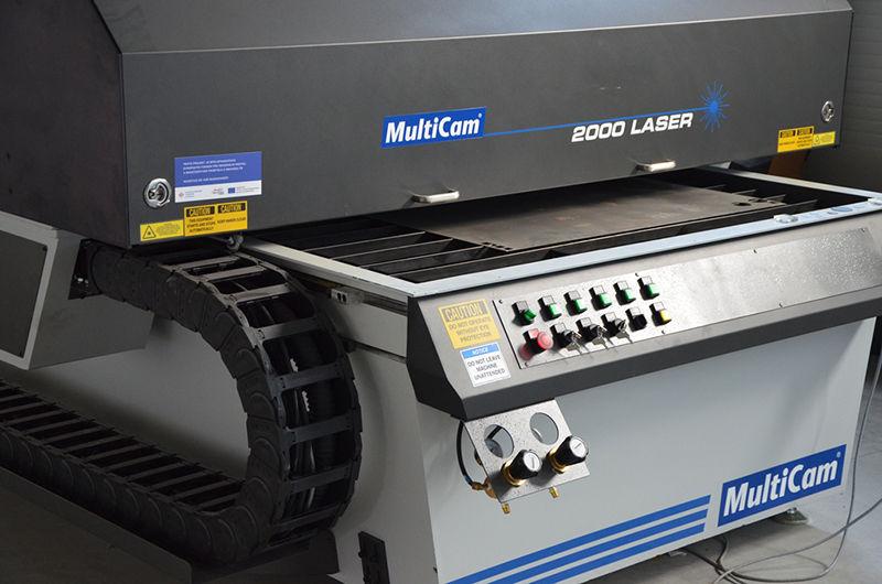 Strojní výroba Laser CNC