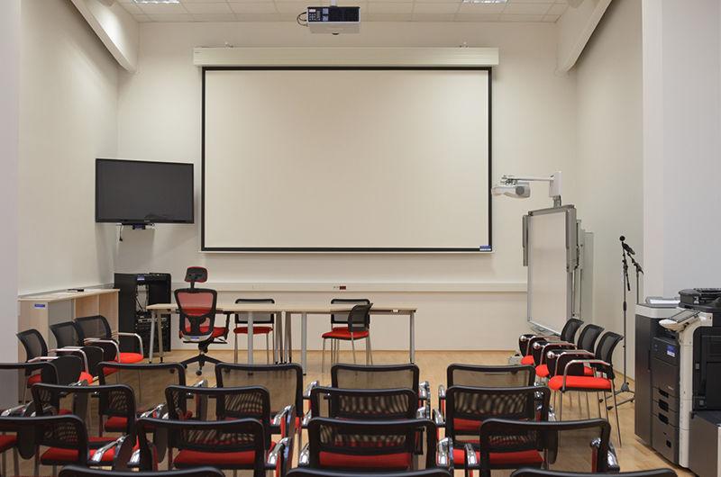 Školící centrum Verne - Přednášková místnost