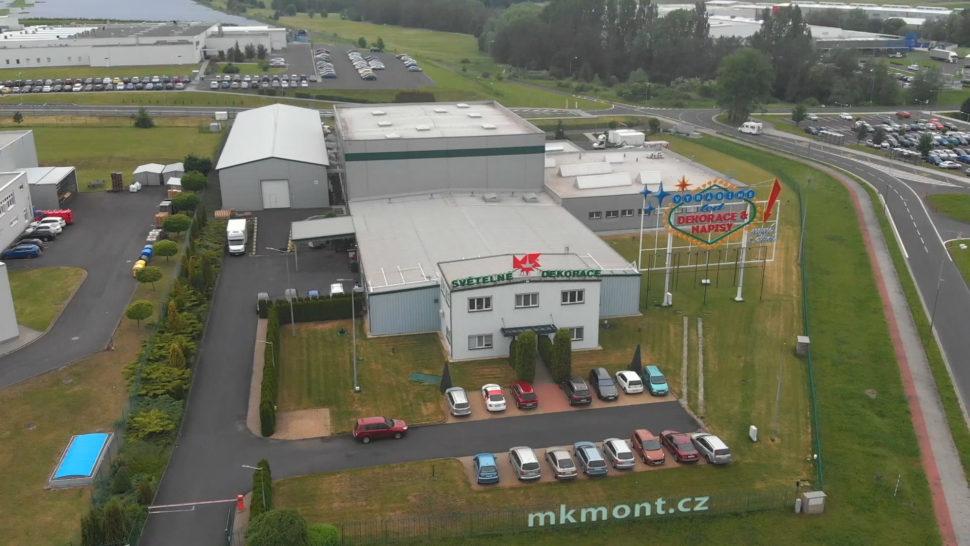 Výrobní závod MK mont
