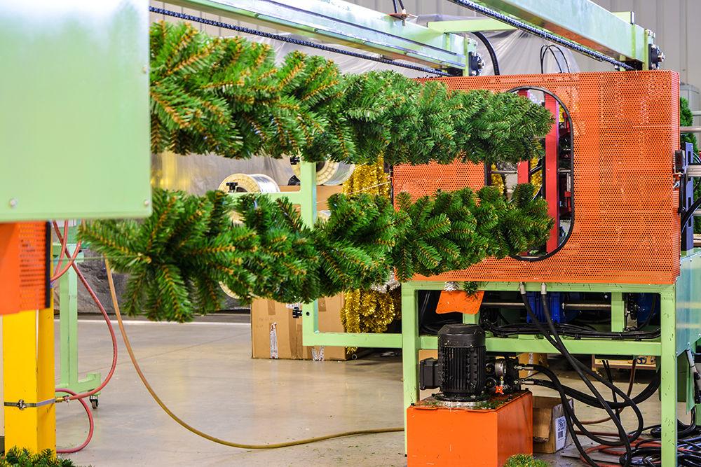 výroba PVC větví
