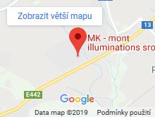 Mapa MK mont