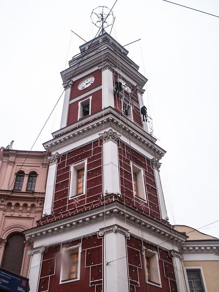Petrohrad, Rusko, foto před realizací
