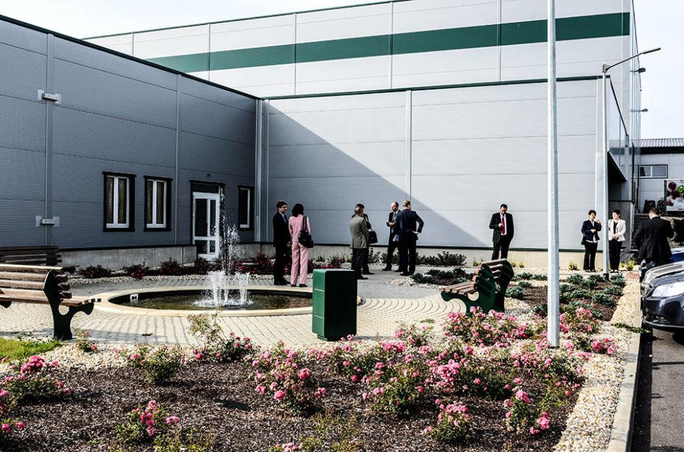 Školící centrum Verne - vchod