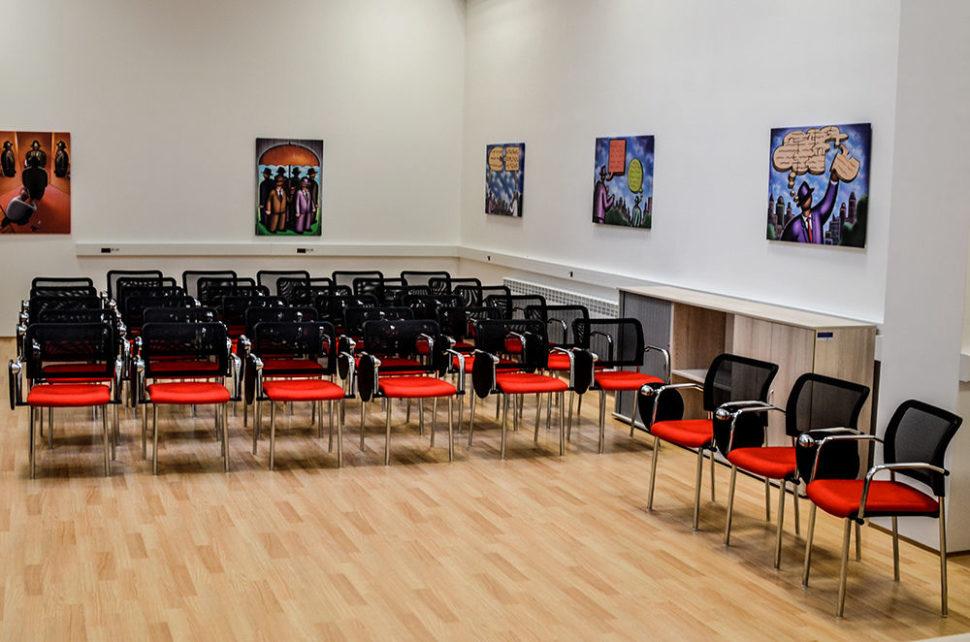 Školící centrum Verne - Přednáškový sál