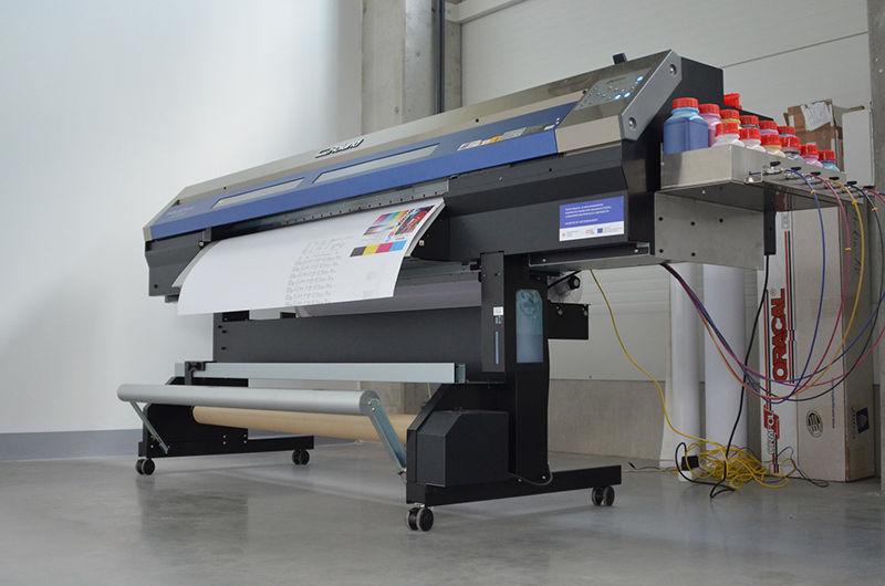 Strojní výroba tiskový plotr