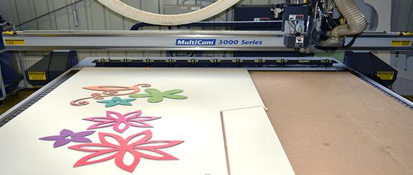 Strojní výroba CNC frézka vprovozu