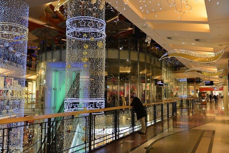 Světelná vánoční výzdoba vOC Palladium