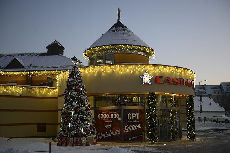 King´s casino světelná výzdoba