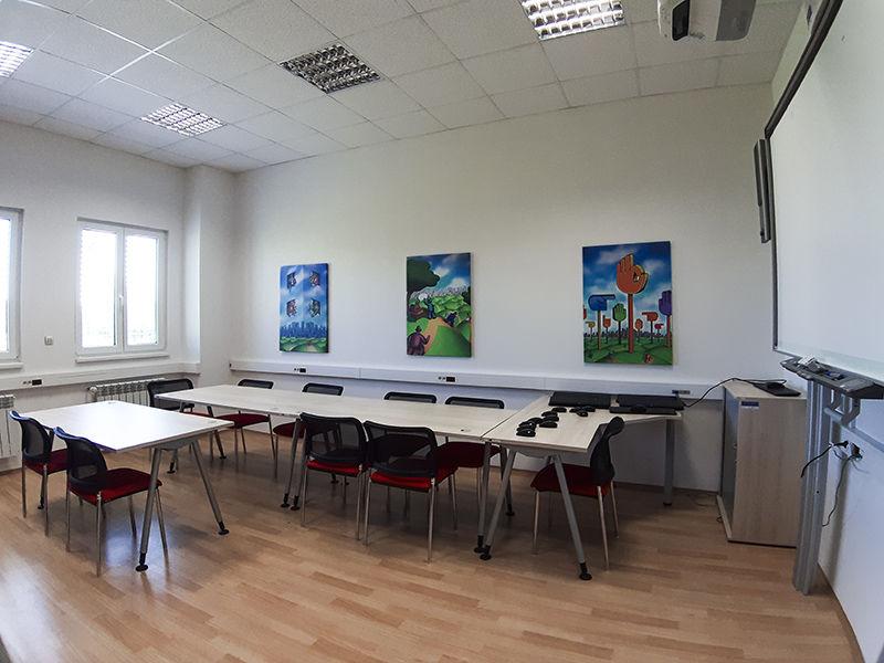 Školící centrum Verne - Učebna B