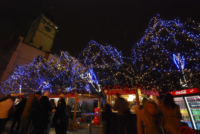 Vánoční strom Staroměstské náměstí