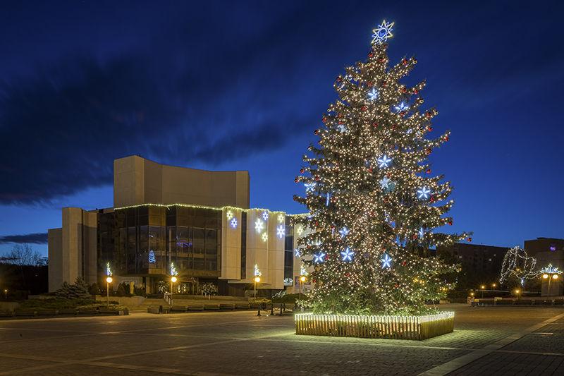 Vánoční strom Most 2019