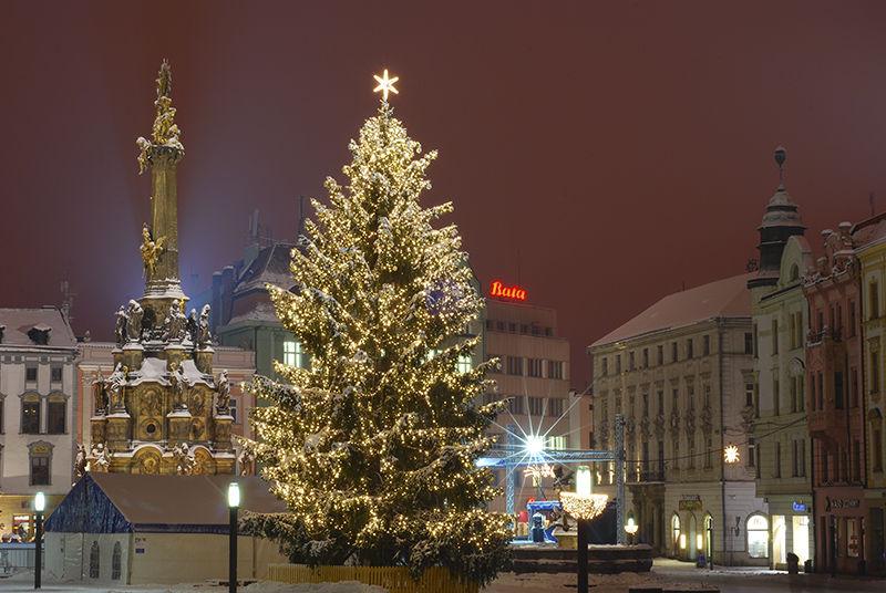 Vánoční strom Olomouc