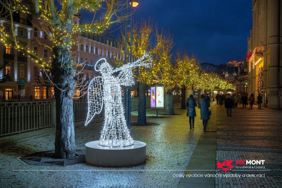 Realizace Karlovy Vary 2019 3D andělé