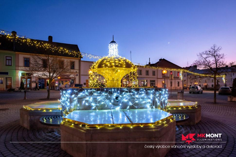 Realizace Kralovice 2019 kašna