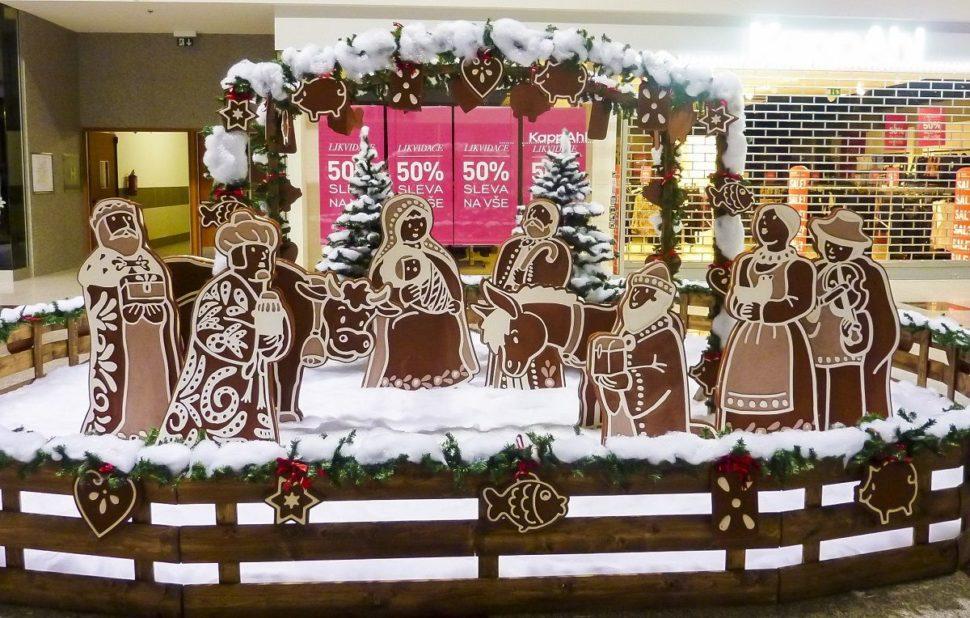 Dětské vánoční koutky perníková chaloupka